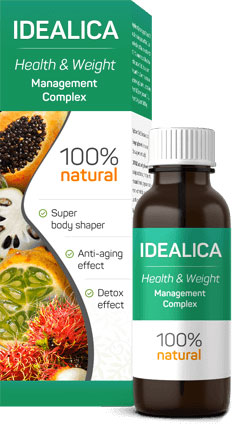 Idealica — drops for weight loss