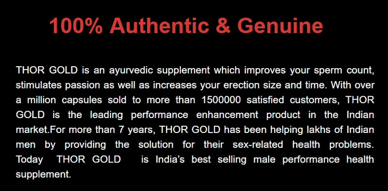 100% Authentic & Genuine