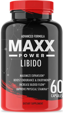 Maxx Power libido - capsules for men
