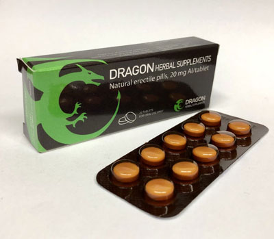 Dragon Herbal pills
