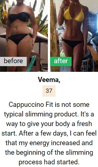 Veema review on Cappuccino Fit